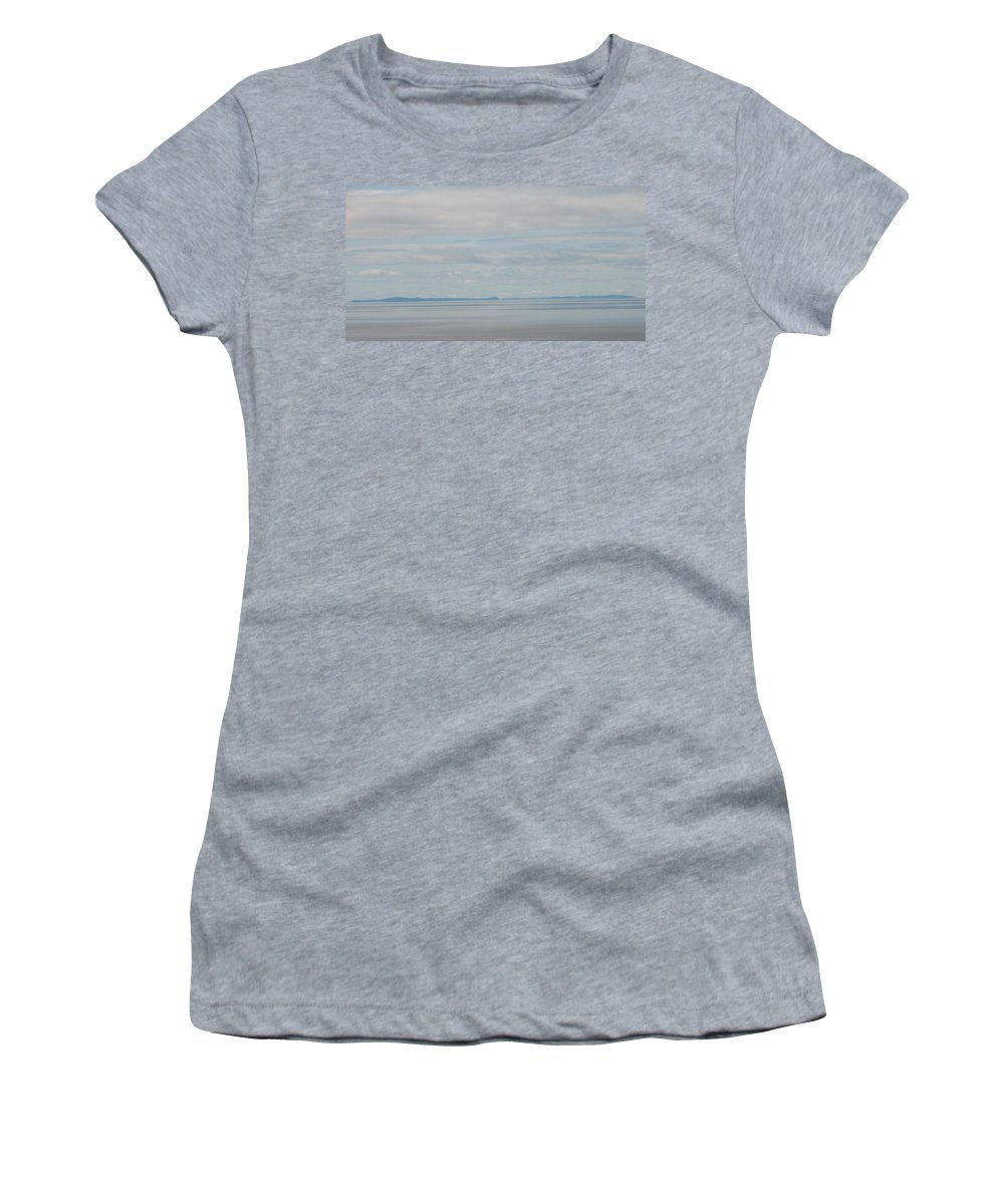 Sky Women's T-Shirt (Athletic Fit) featuring the photograph Skyscape by Kelly Mezzapelle