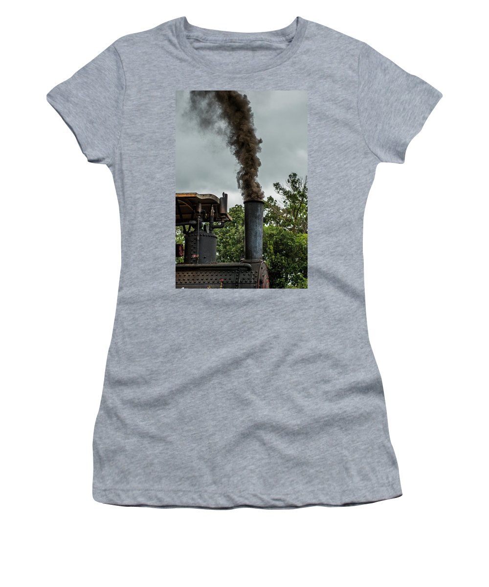 Rumley Women's T-Shirt featuring the photograph Smokin by Paul Freidlund