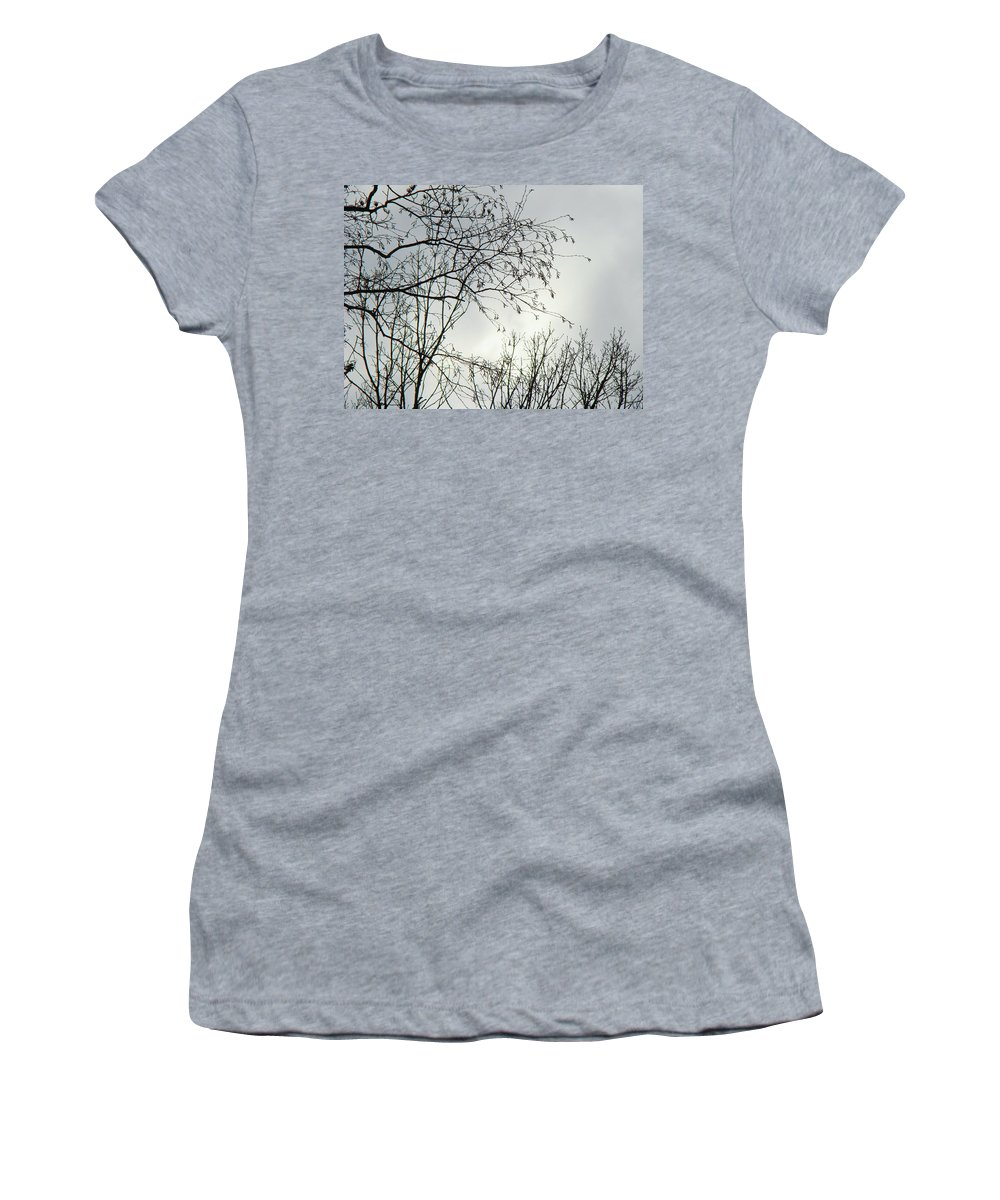 Sky Women's T-Shirt (Athletic Fit) featuring the photograph Storm Approaching by Mother Nature
