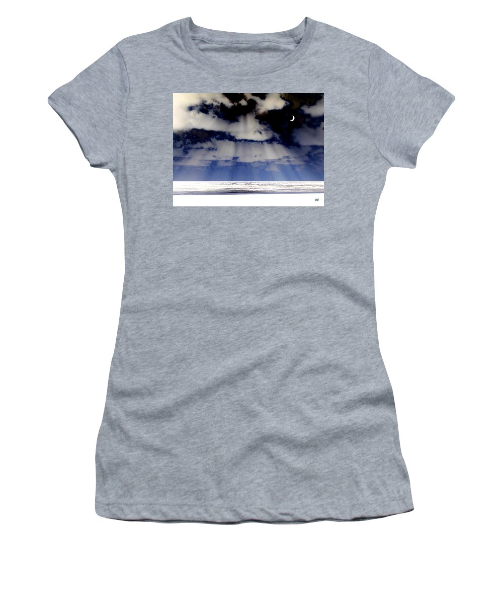 Surreal Women's T-Shirt featuring the digital art Sub Zero by Will Borden