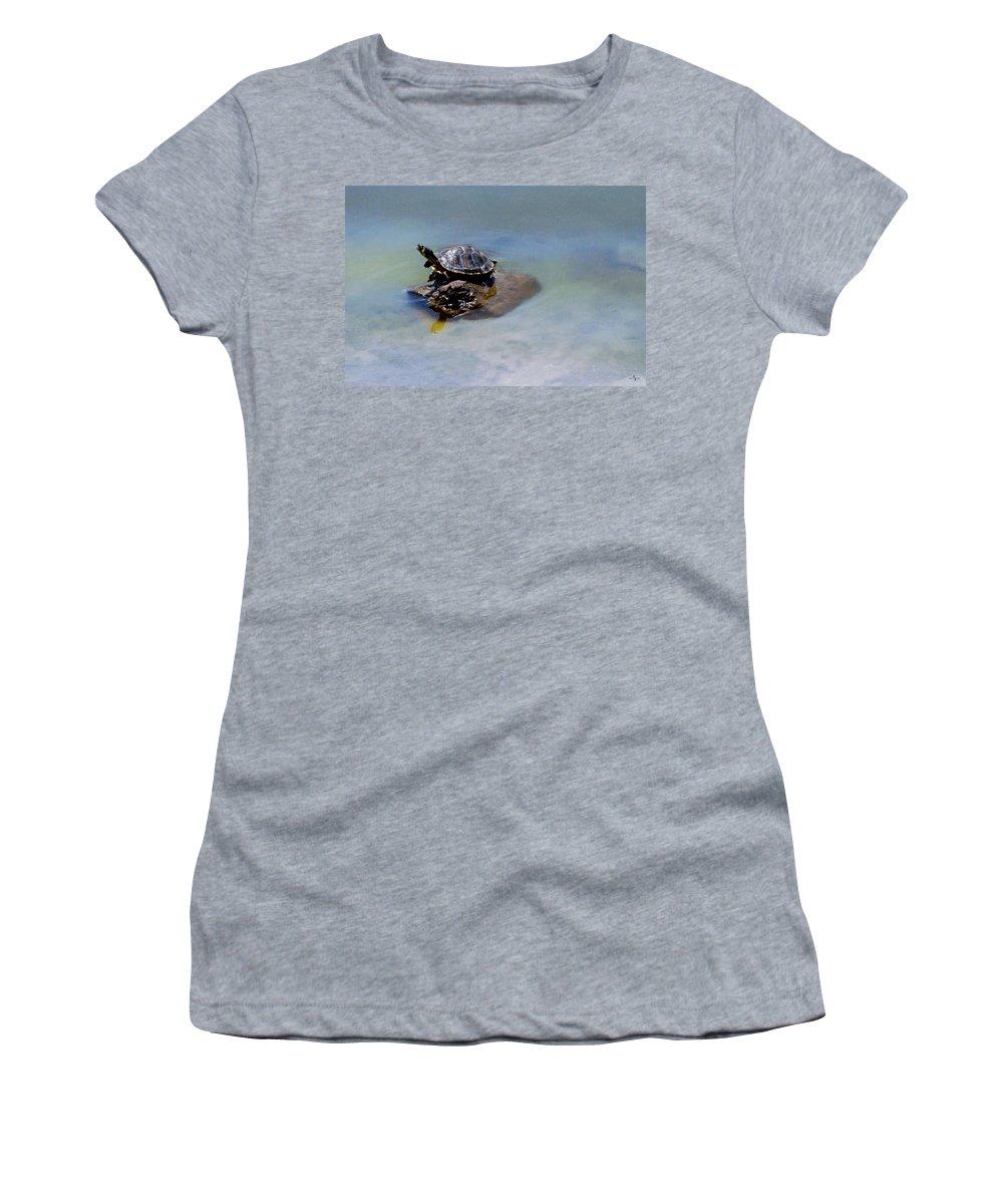 Sun Dried Women's T-Shirt featuring the photograph Sun Dried by Mechala Matthews