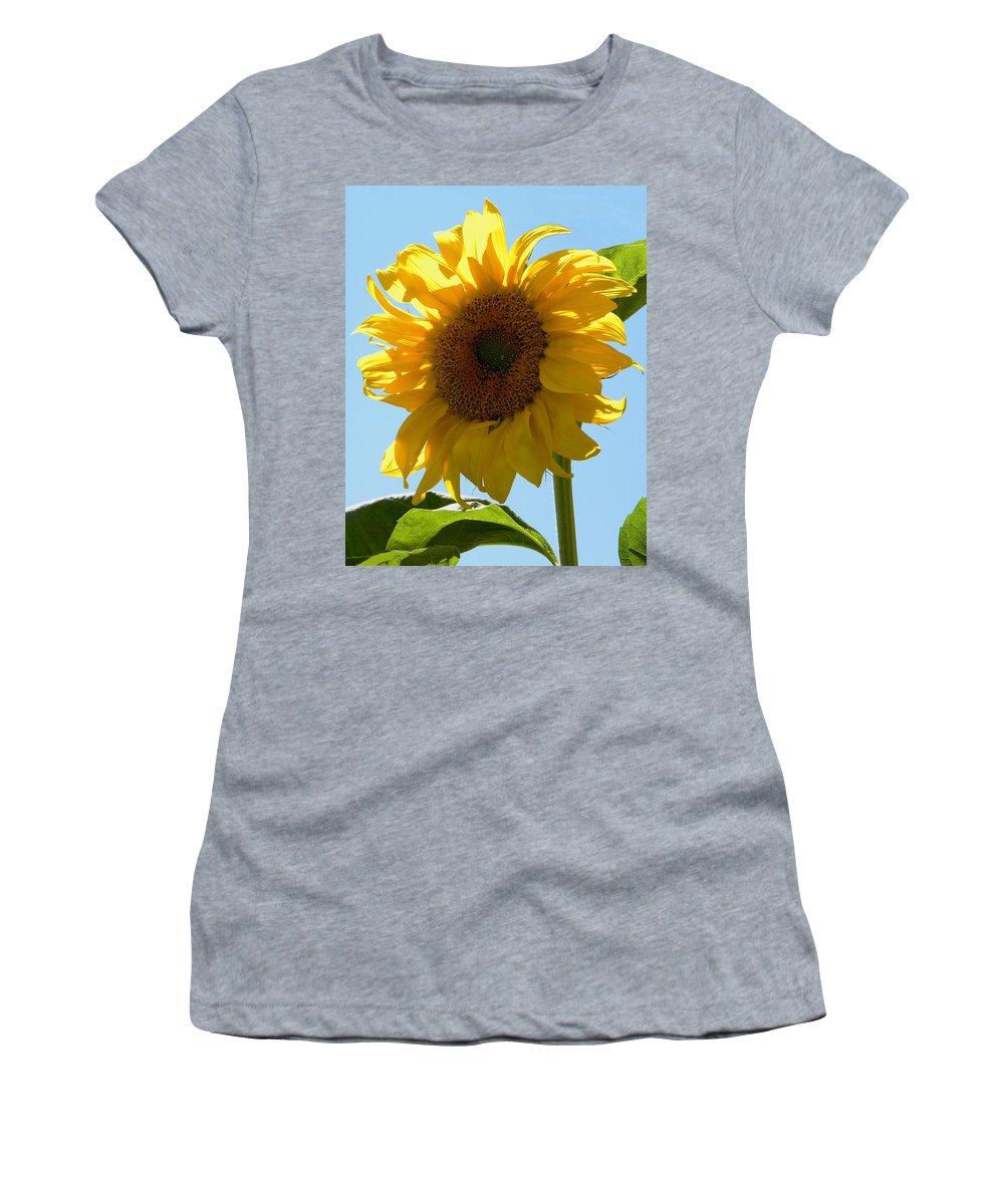 Sunflower Women's T-Shirt featuring the photograph Sunny Day by Sandi OReilly