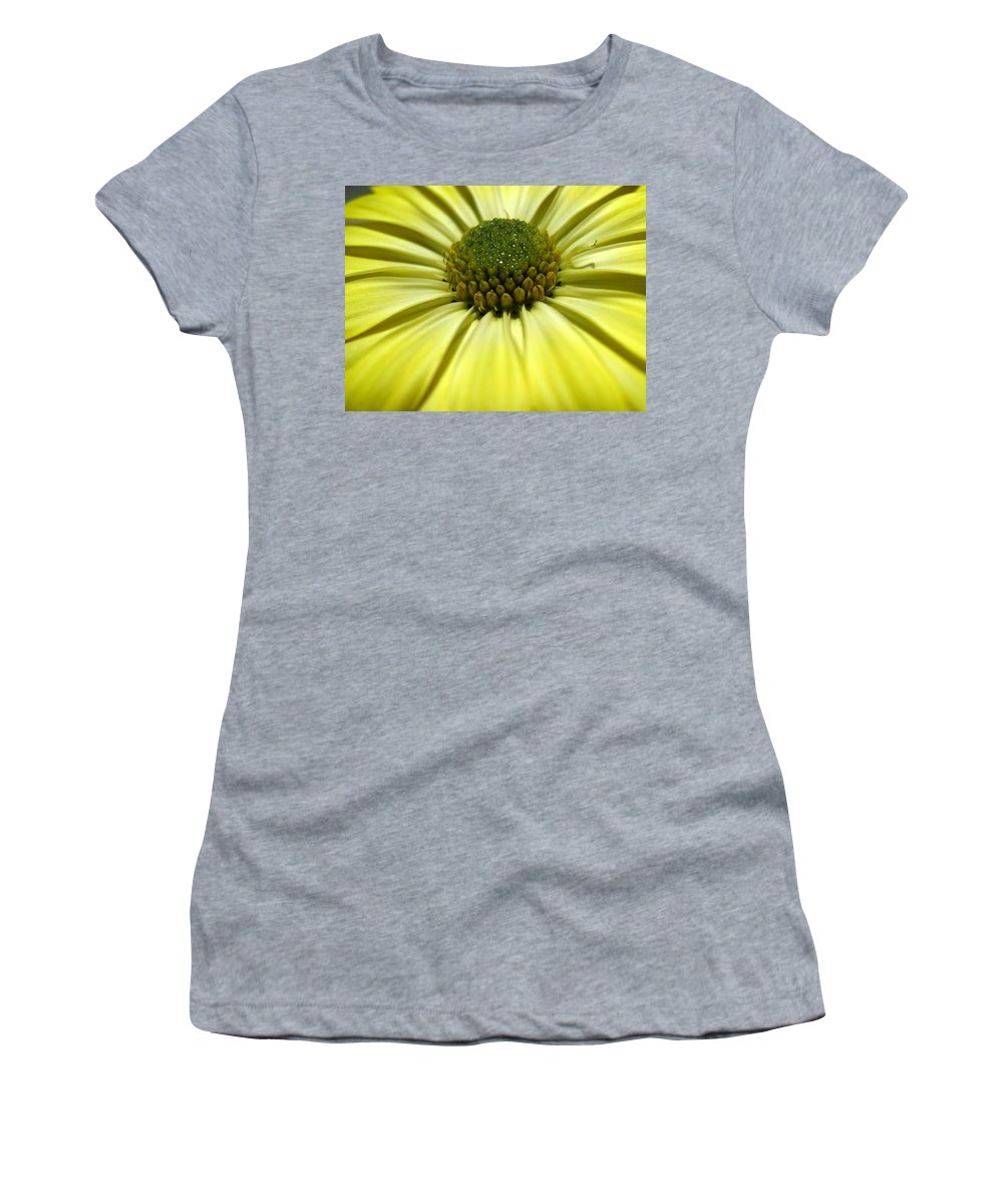 Daisy Women's T-Shirt (Athletic Fit) featuring the photograph Sunny Days by Marla McFall