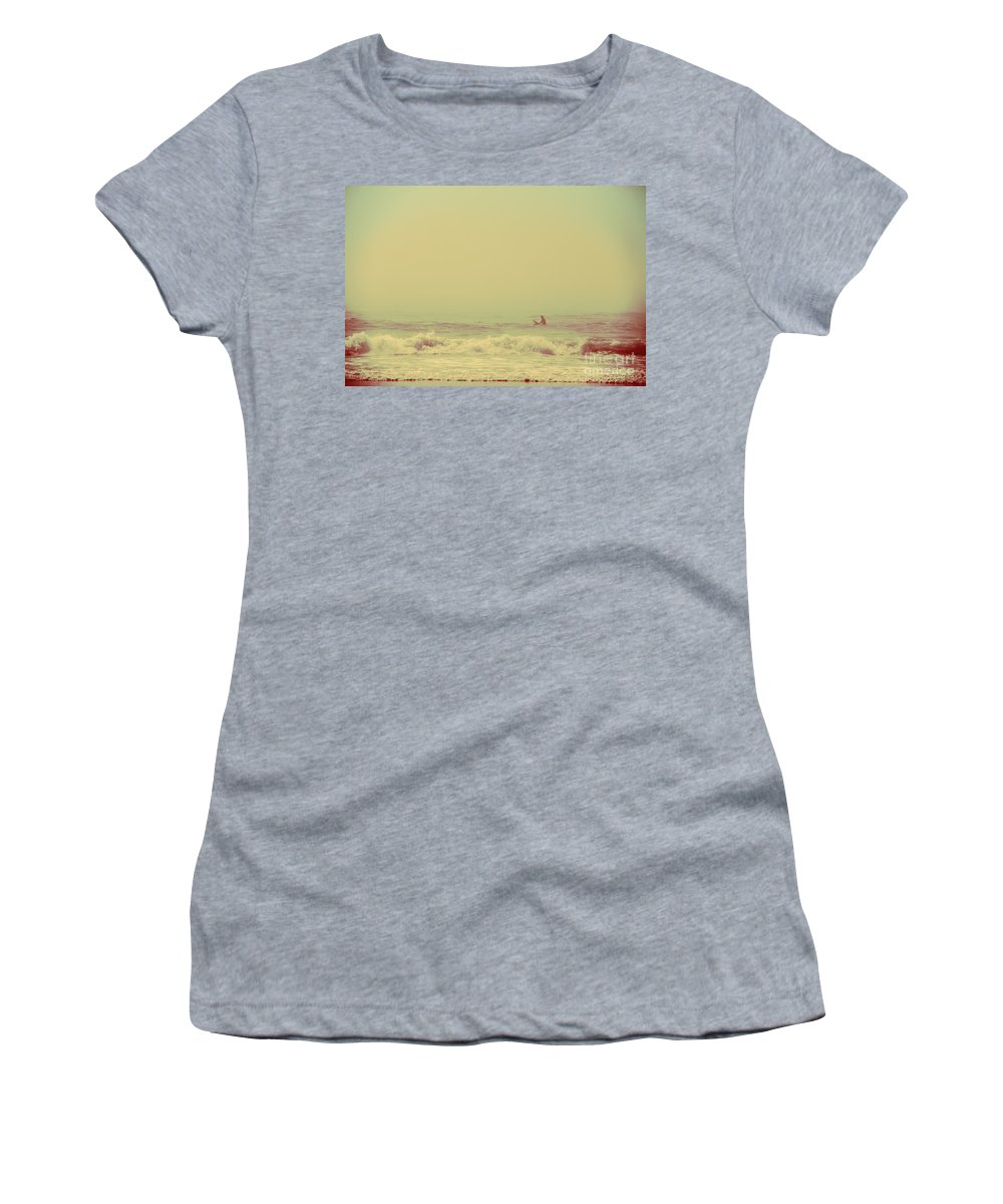 Sea Women's T-Shirt featuring the photograph Swimming In A Sea Of Stars by Dana DiPasquale