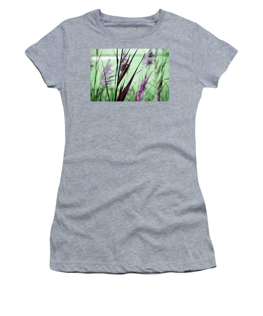 Magic Women's T-Shirt (Athletic Fit) featuring the photograph That Magic Color by Susanne Van Hulst