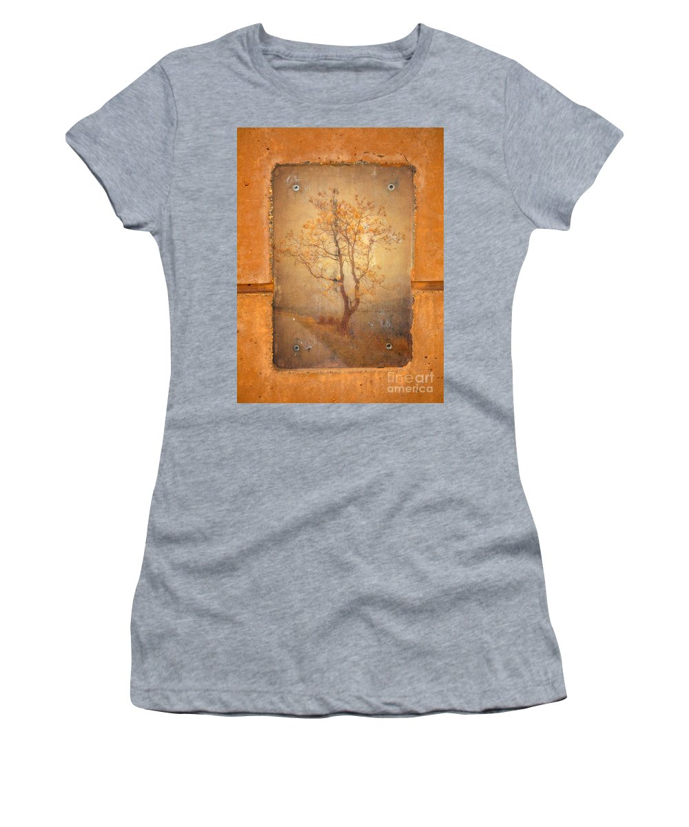 Tree Women's T-Shirt (Athletic Fit) featuring the photograph The Last Tree by Tara Turner