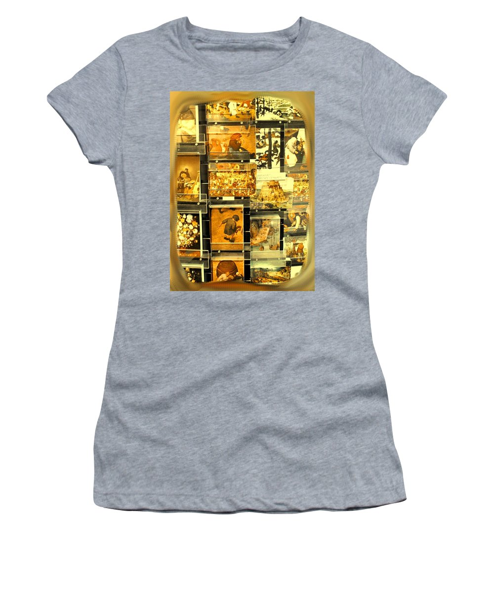 Art Women's T-Shirt (Athletic Fit) featuring the photograph The Masters Reduced To This by Ian MacDonald