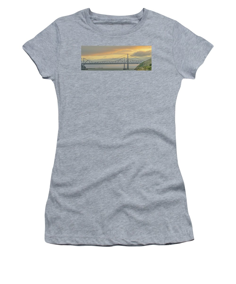 Vallejo Women's T-Shirt featuring the photograph The Other Side Of The Bridge by Kristofer M Johnson