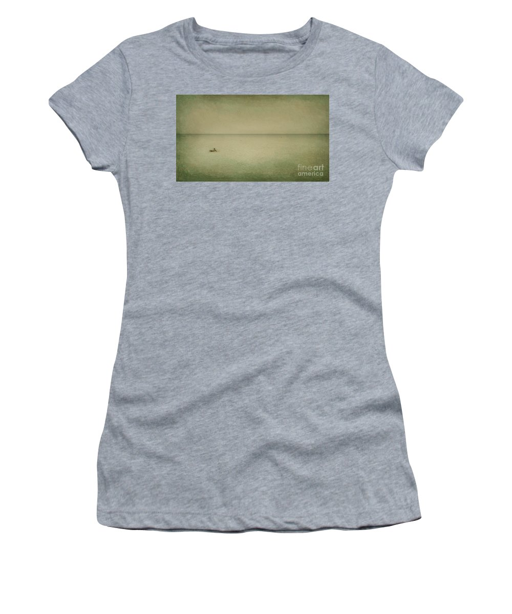 Sea Women's T-Shirt (Athletic Fit) featuring the photograph The Recesses Of The Deep by Dana DiPasquale