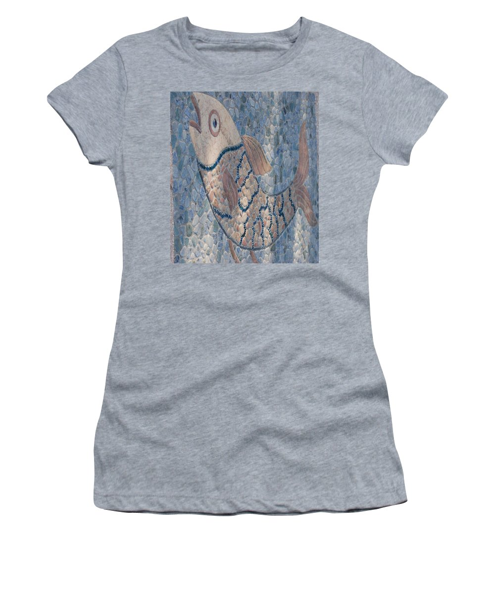 Fish Women's T-Shirt (Athletic Fit) featuring the photograph The Stone Fish by Rob Hans