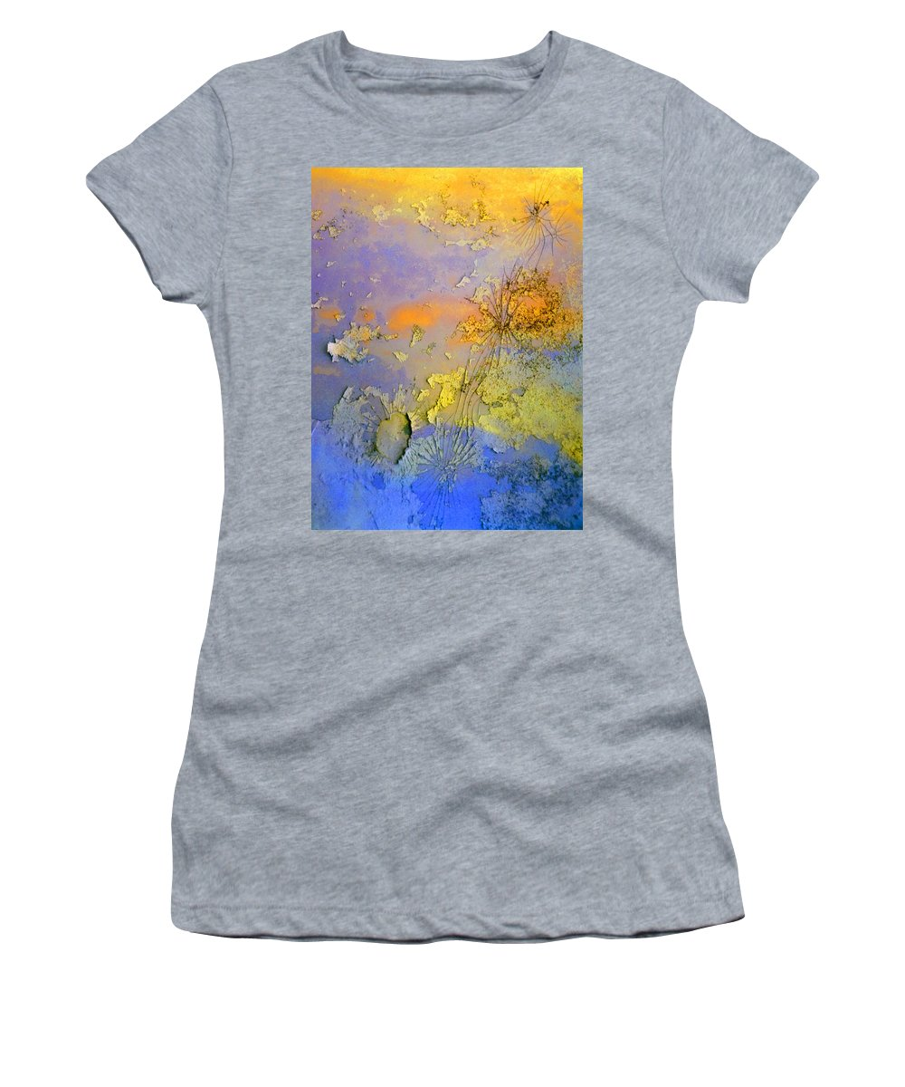 Abstract Women's T-Shirt (Athletic Fit) featuring the photograph The Things We No Longer Find Beautiful by Tara Turner
