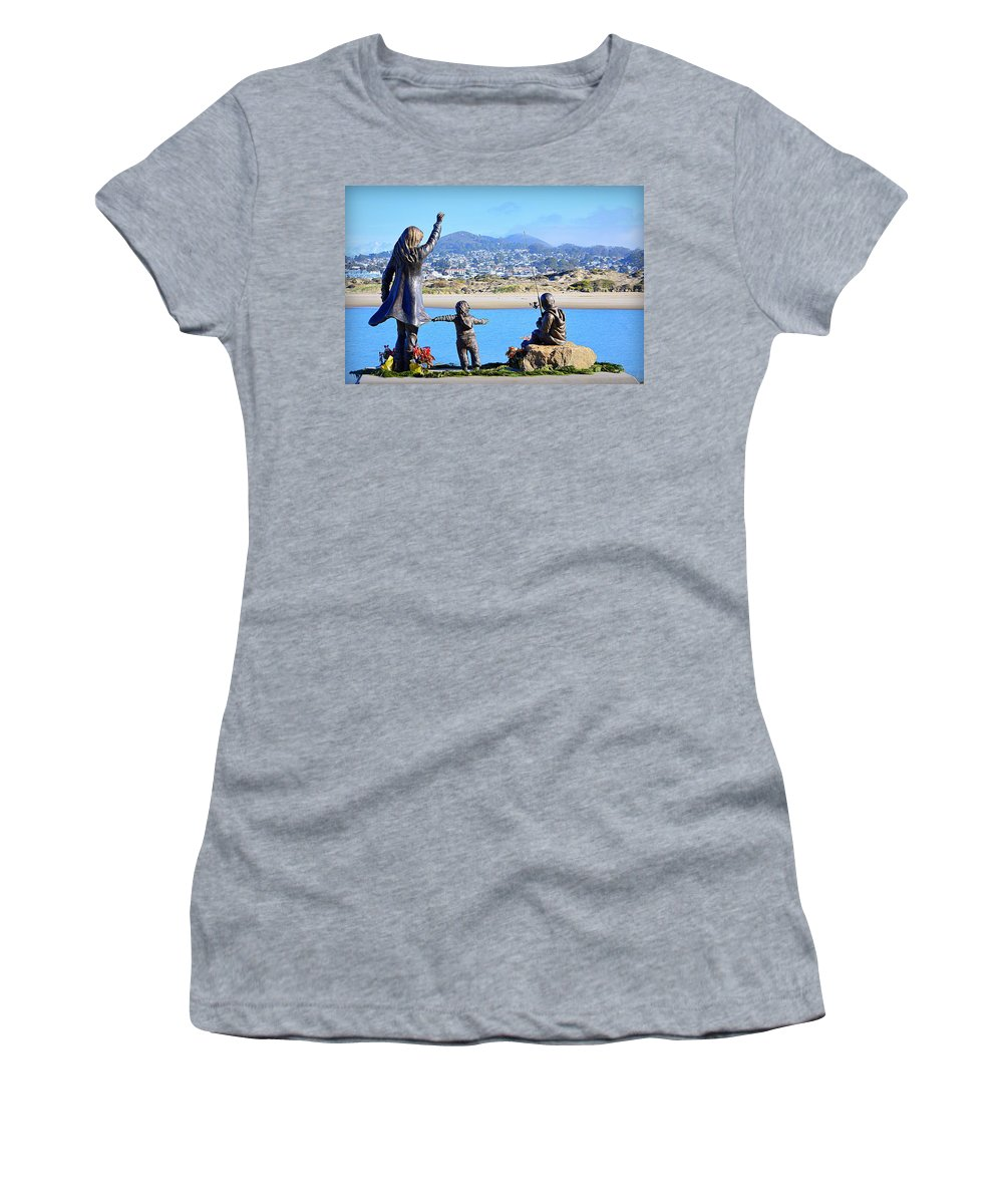 Scenic Women's T-Shirt (Athletic Fit) featuring the photograph Those Who Wait by AJ Schibig