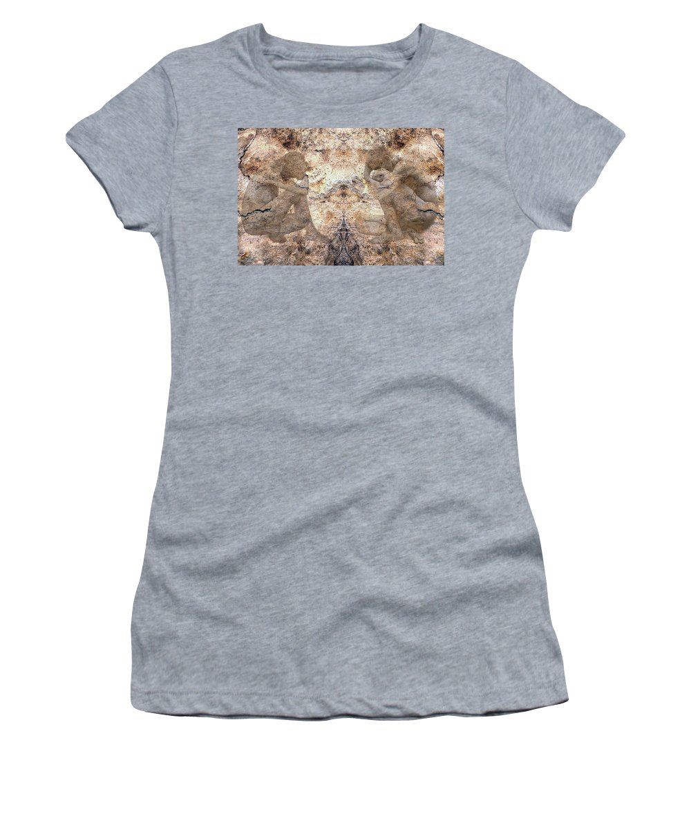 Nudes Women's T-Shirt (Athletic Fit) featuring the photograph Timeless by Kurt Van Wagner