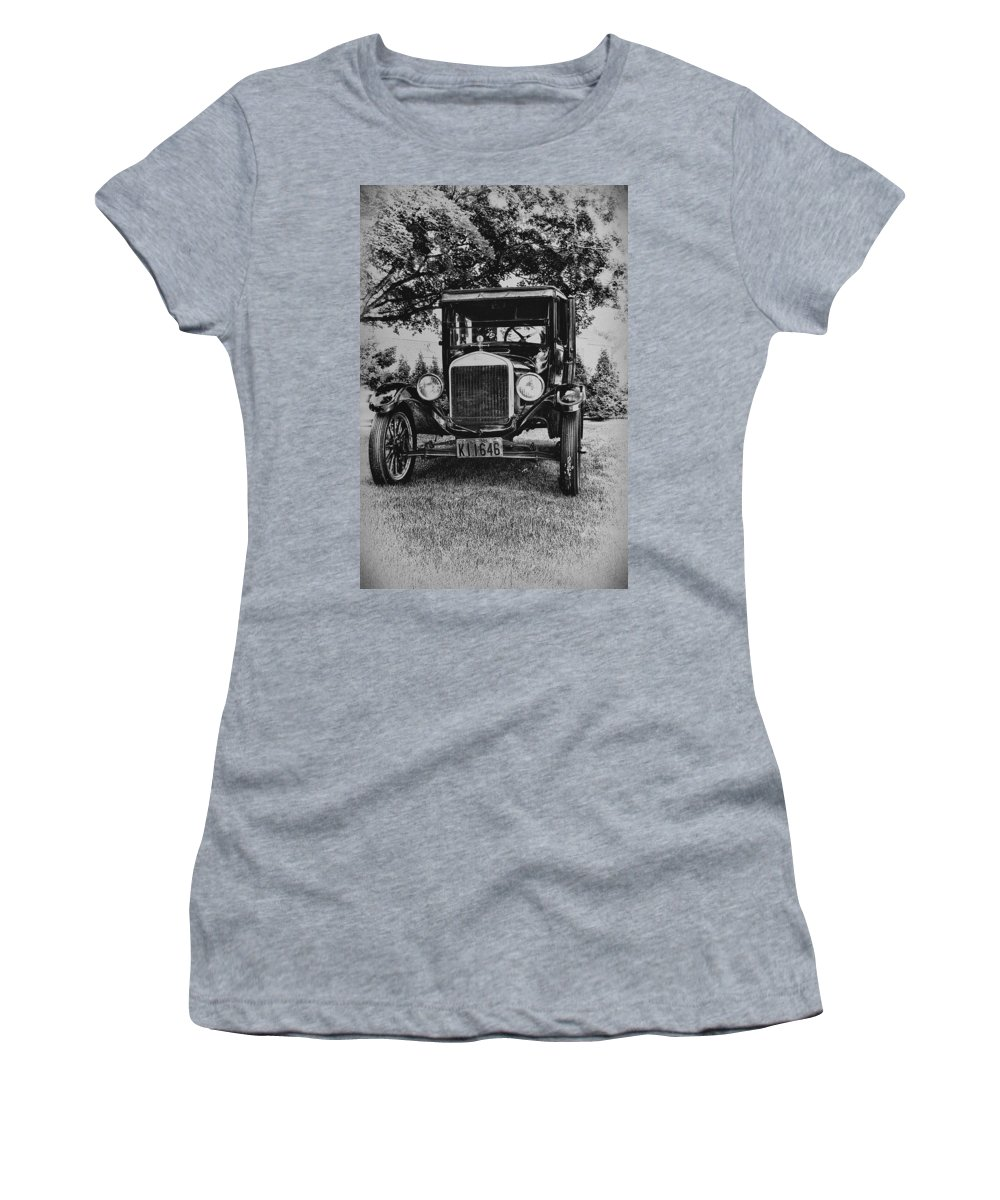 Ford Model T Women's T-Shirt featuring the photograph Tin Lizzy - Ford Model T by Bill Cannon
