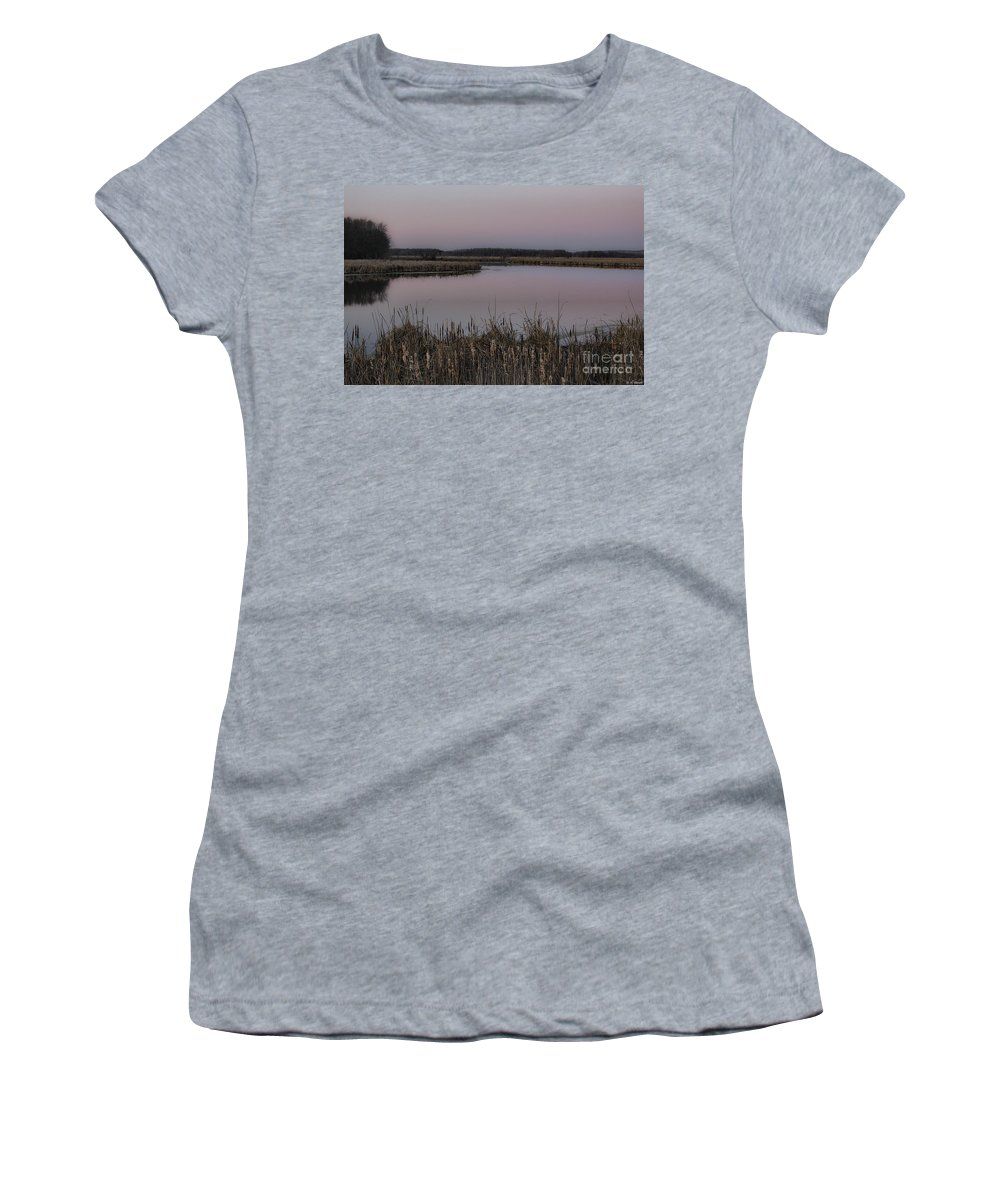 Light Women's T-Shirt featuring the photograph Total Peace And Calm by Deborah Benoit
