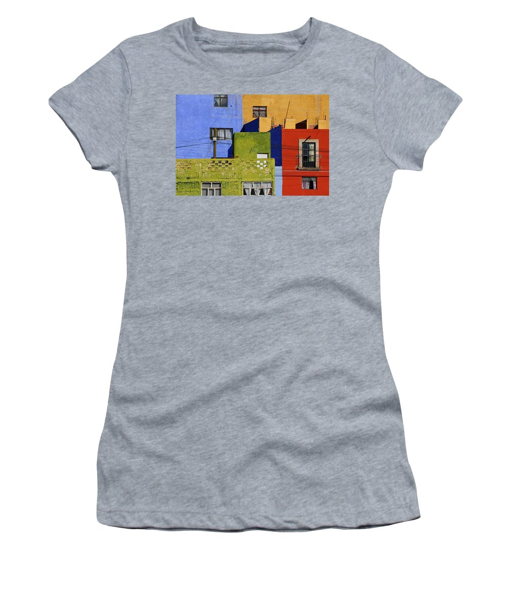 Skip Hunt Women's T-Shirt featuring the photograph Toy Box by Skip Hunt