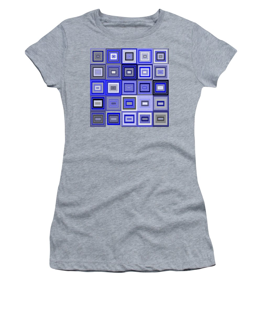 Abstract Women's T-Shirt featuring the digital art Tp.1.56 by Gareth Lewis