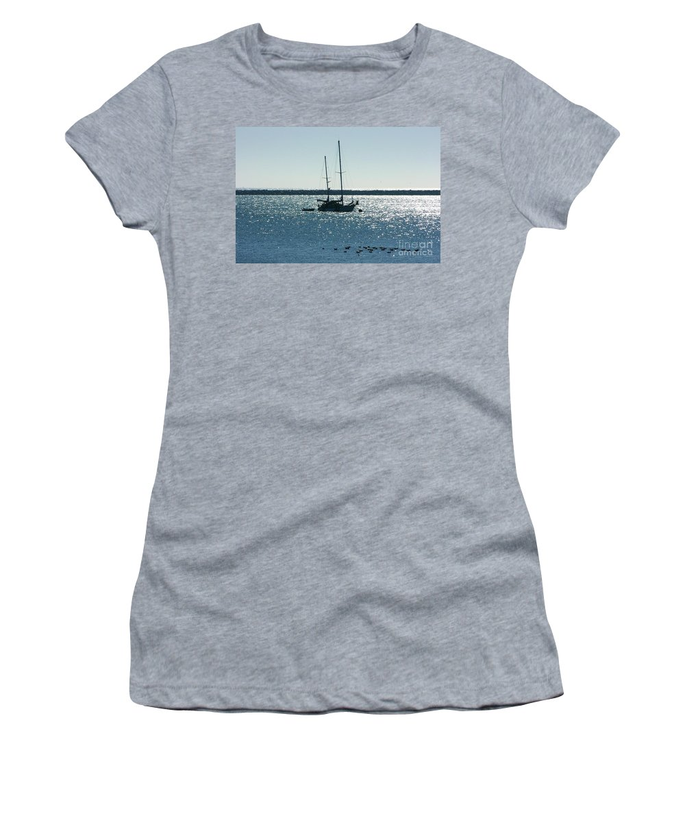 Seascape Women's T-Shirt featuring the photograph Tranquil Bay by Carol Groenen