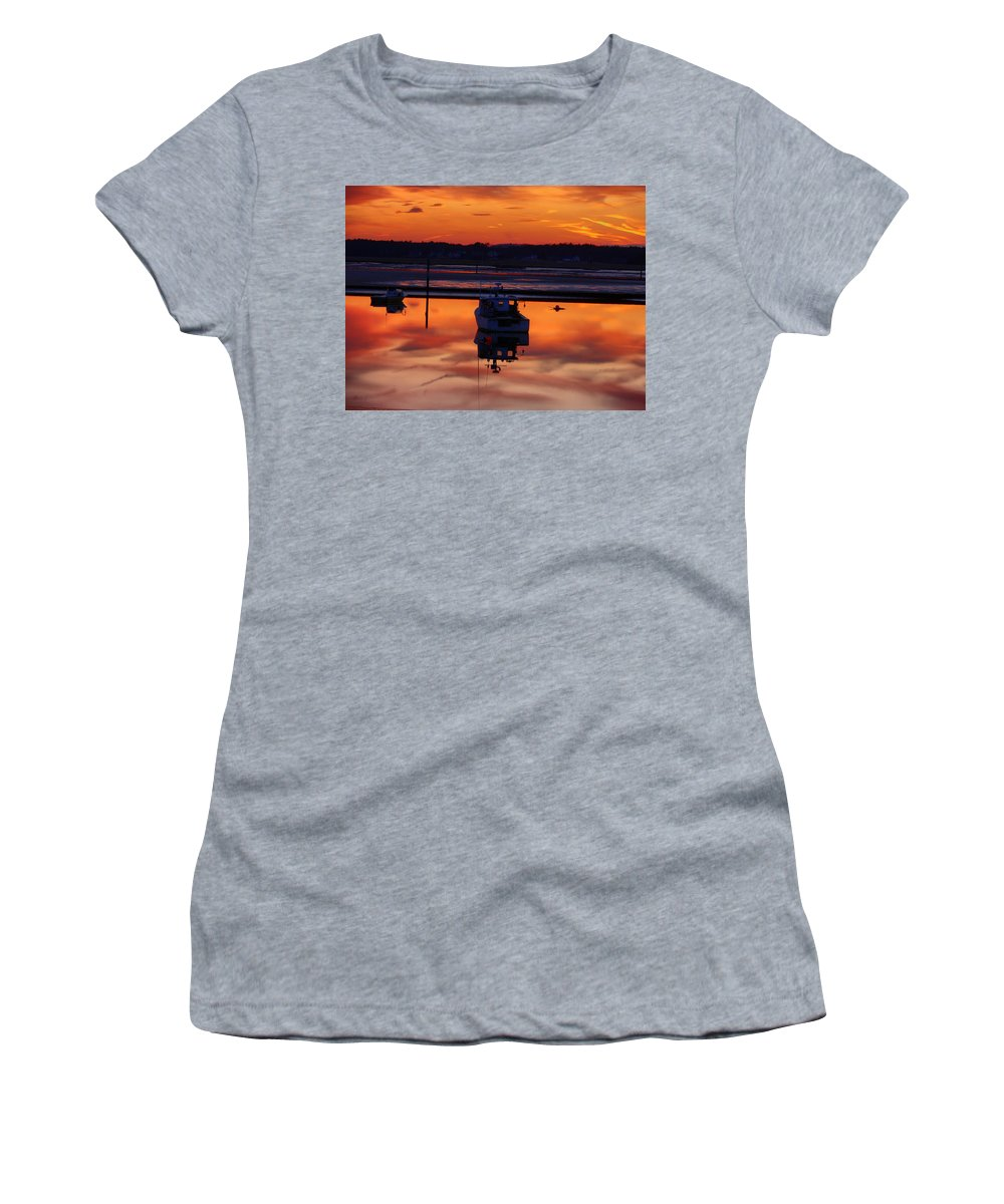 Spring Women's T-Shirt (Athletic Fit) featuring the photograph Tranquil.. by Nancie DeMellia