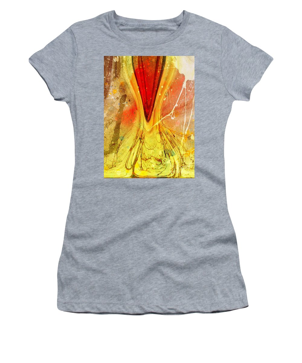 Art Women's T-Shirt (Athletic Fit) featuring the digital art Two Trees by Tara Turner