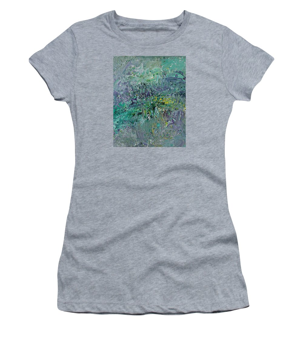 Fusionart Women's T-Shirt featuring the painting Blind Giverny by Ralph White