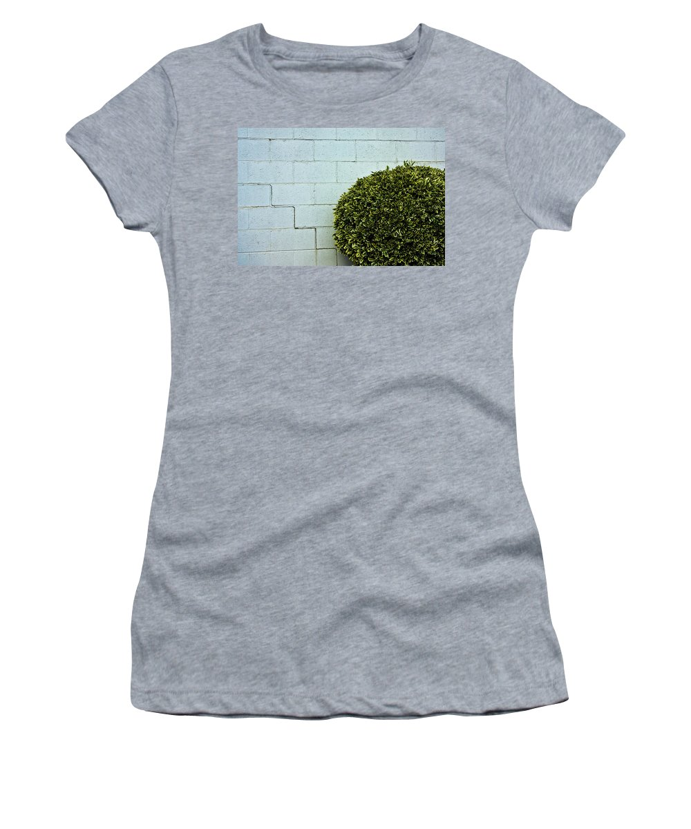 Wall Women's T-Shirt (Athletic Fit) featuring the photograph Wall Art by Hannah Breidenbach