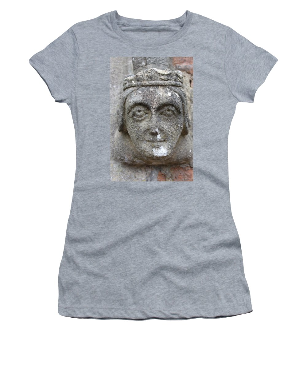 Face Women's T-Shirt (Athletic Fit) featuring the photograph Watching by Lauri Novak