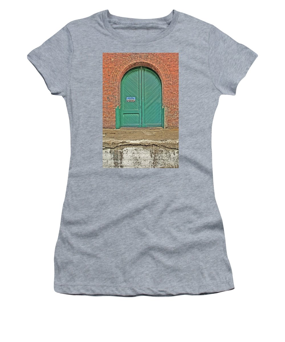 Hdr Women's T-Shirt (Athletic Fit) featuring the photograph West Bottoms 7708 by Timothy Bischoff