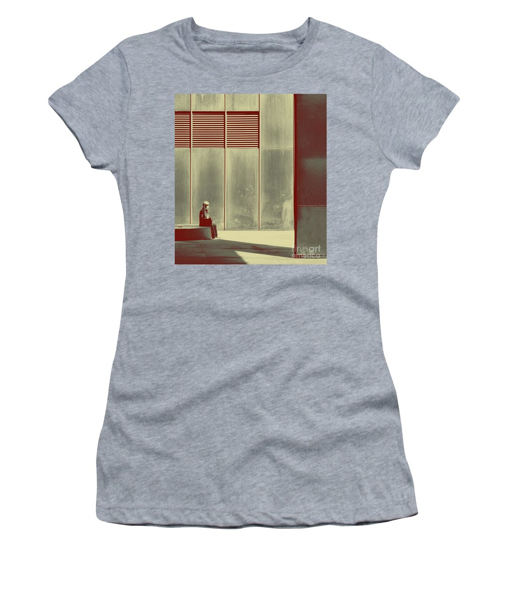 Alone Women's T-Shirt featuring the photograph When Shes Gone by Dana DiPasquale