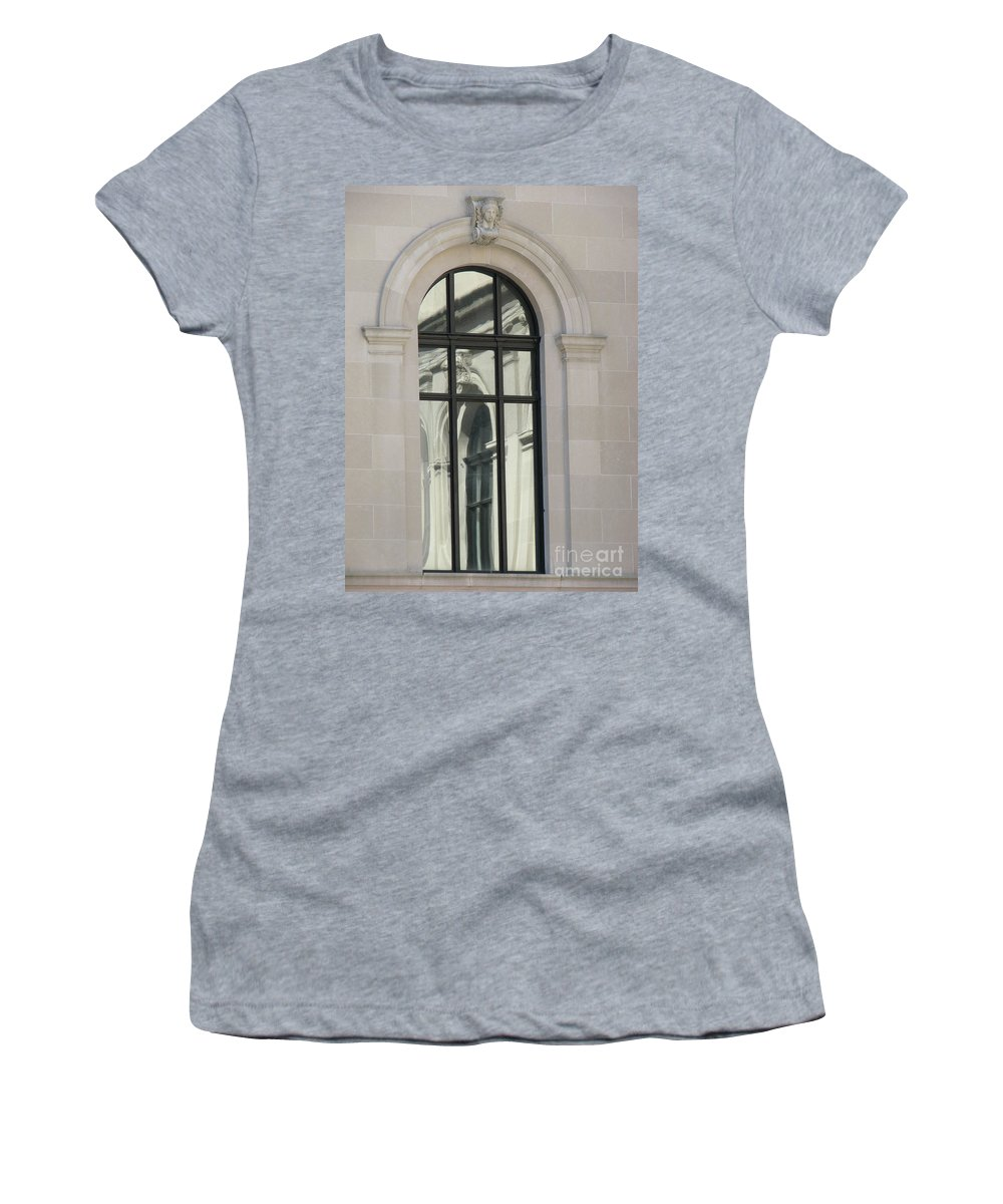 Windows Women's T-Shirt (Athletic Fit) featuring the photograph Window by Amanda Barcon