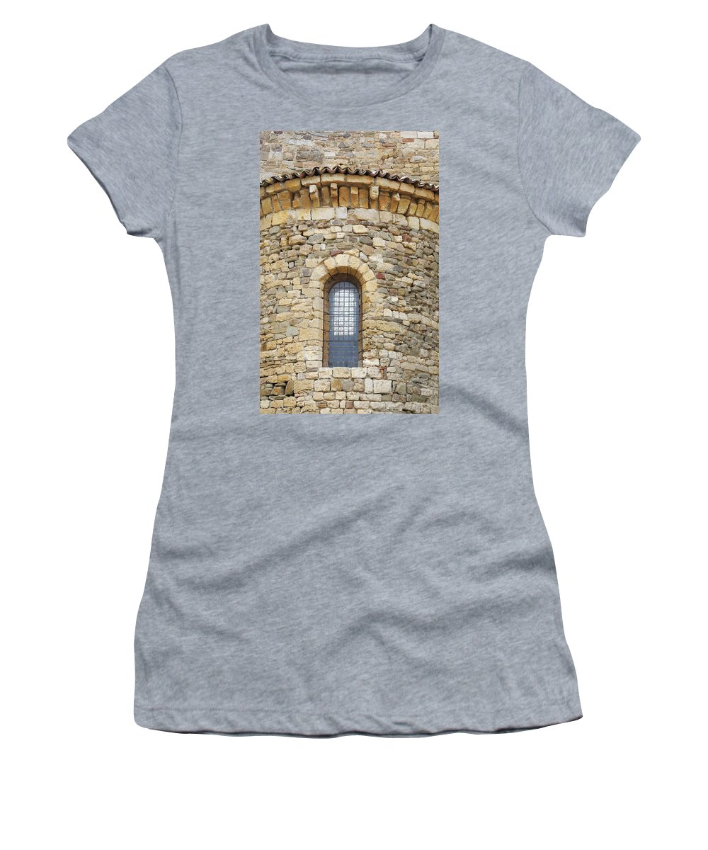 Europe Women's T-Shirt (Athletic Fit) featuring the photograph Window Uno - Italy by Jim Benest