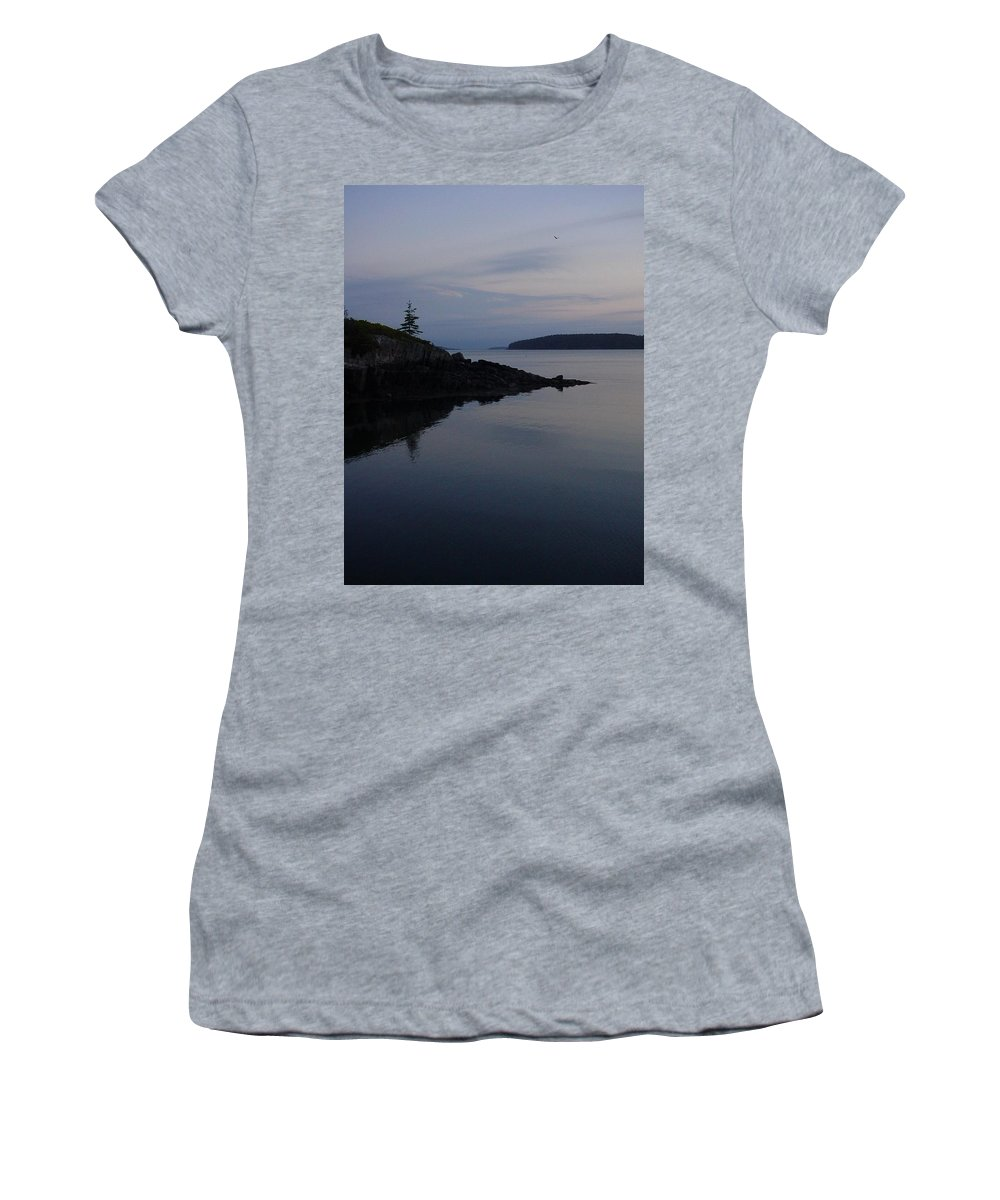 Women's T-Shirt (Athletic Fit) featuring the photograph Xmas Tree by Kelly Mezzapelle