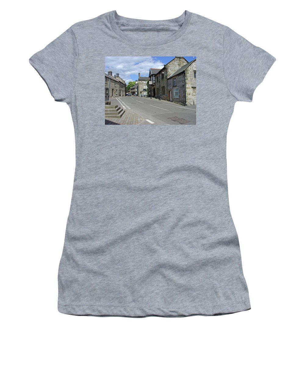 Europe Women's T-Shirt featuring the photograph Youlgrave - Derbyshire by Rod Johnson