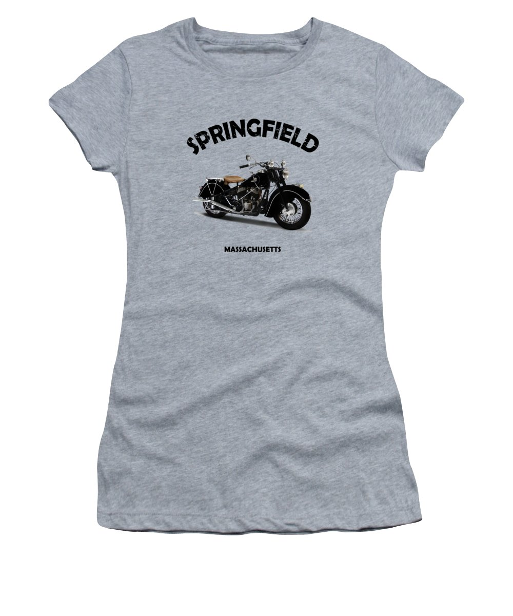 Vintage Motorcycle Photographs Women's T-Shirts