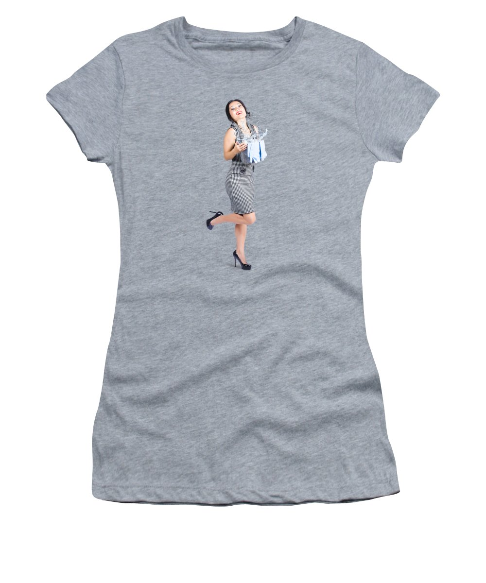 Lady Photographs Women's T-Shirts