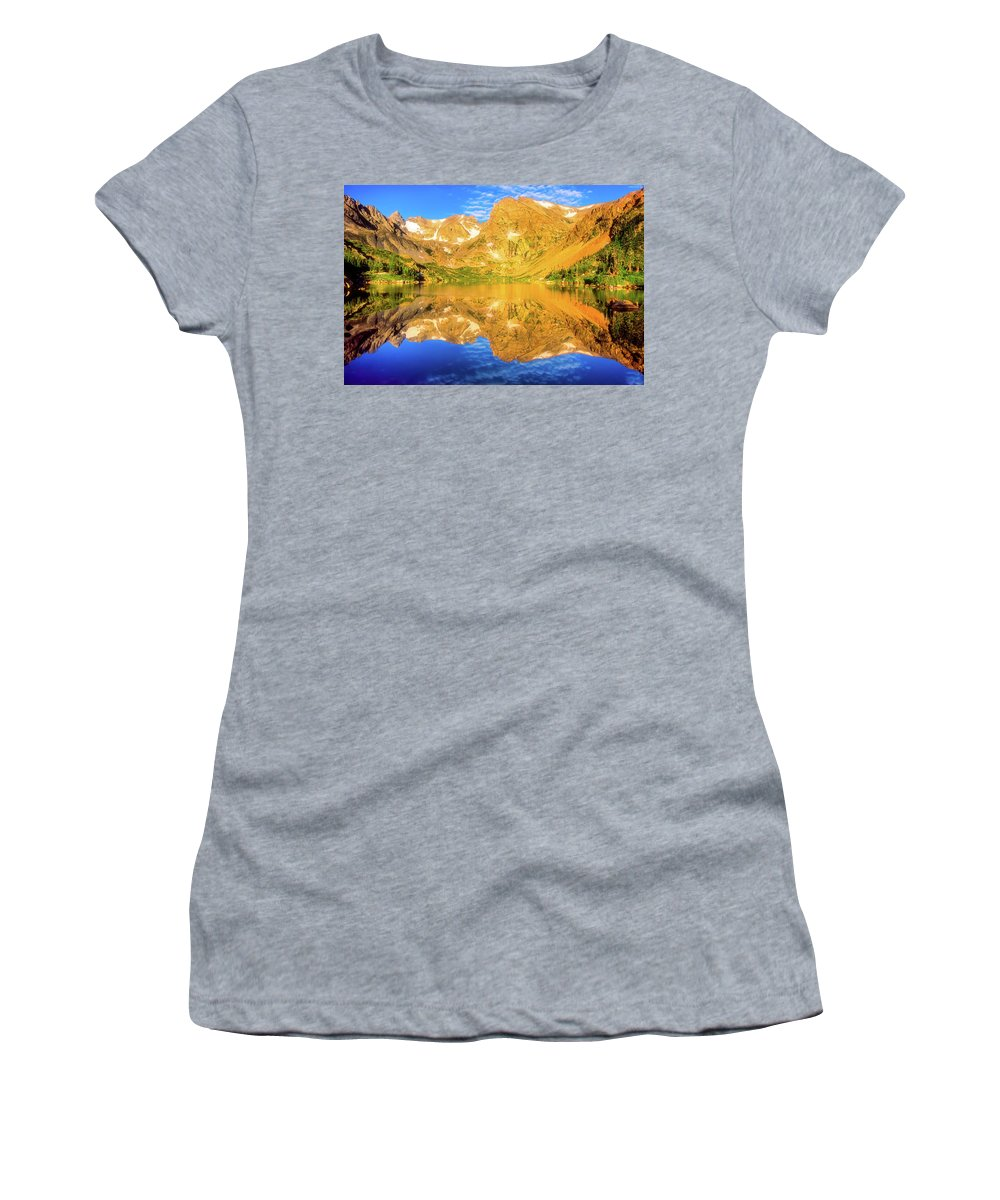 Colorado Women's T-Shirt featuring the photograph Lake Isabelle, Revisited by Eric Glaser
