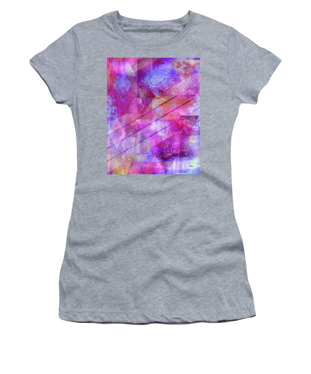 Dragon's Kiss Women's T-Shirt featuring the digital art Dragon's Kiss by John Robert Beck