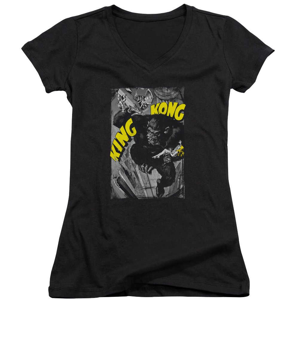 Empire State Building Women's V-Neck T-Shirts