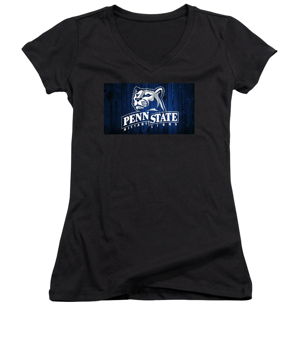 Penn State University Women's V-Neck T-Shirts