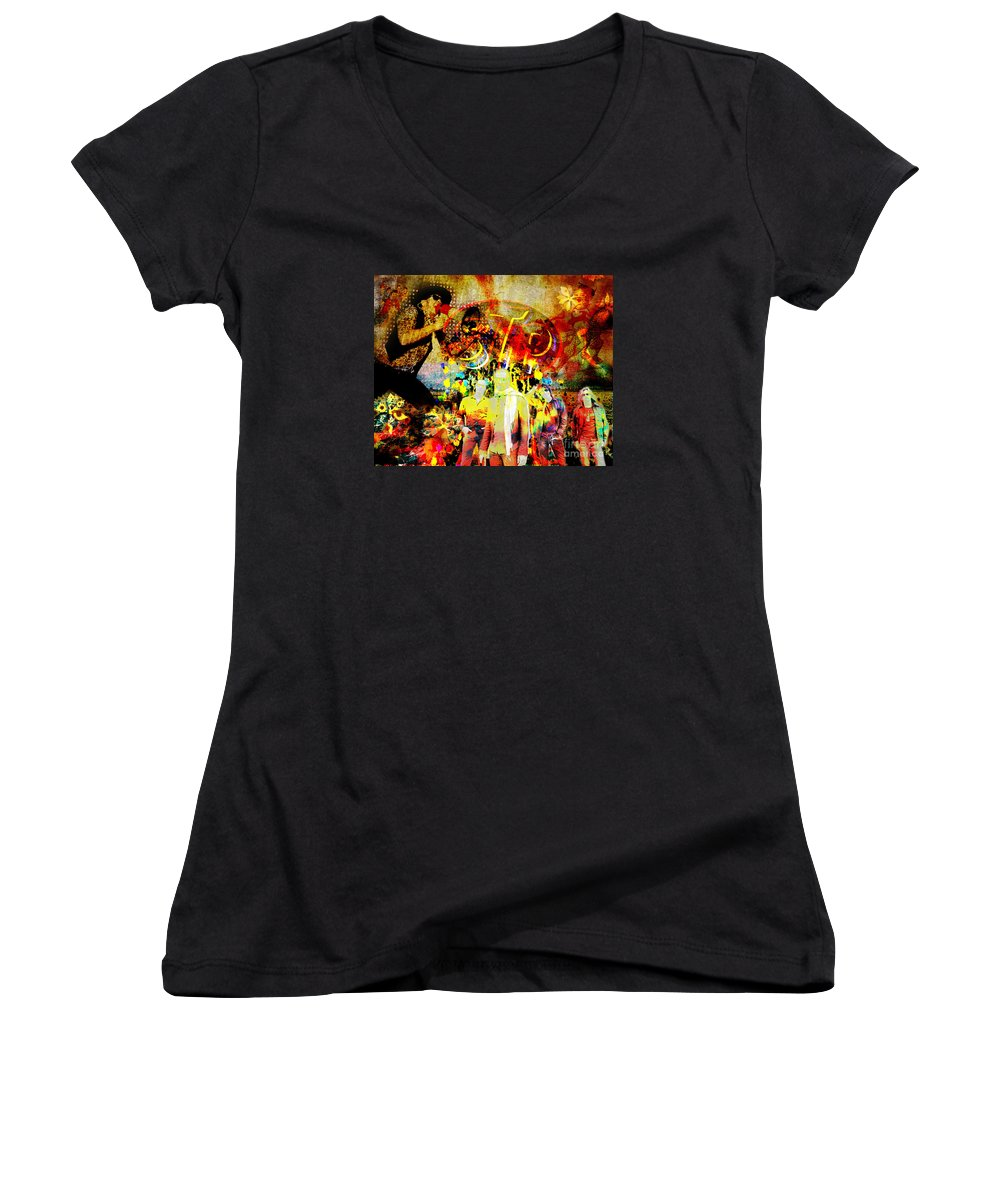 Stone Temple Pilots Junior V-Neck T-Shirts