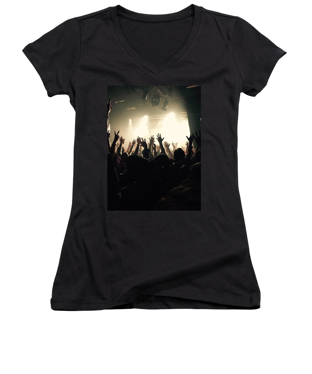 Music Women's V-Neck T-Shirts