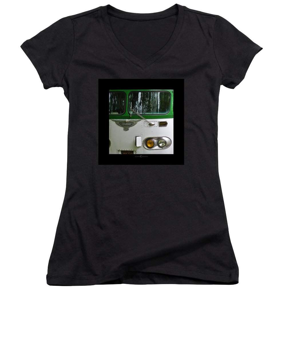Flxible Women's V-Neck (Athletic Fit) featuring the photograph Flxible by Tim Nyberg
