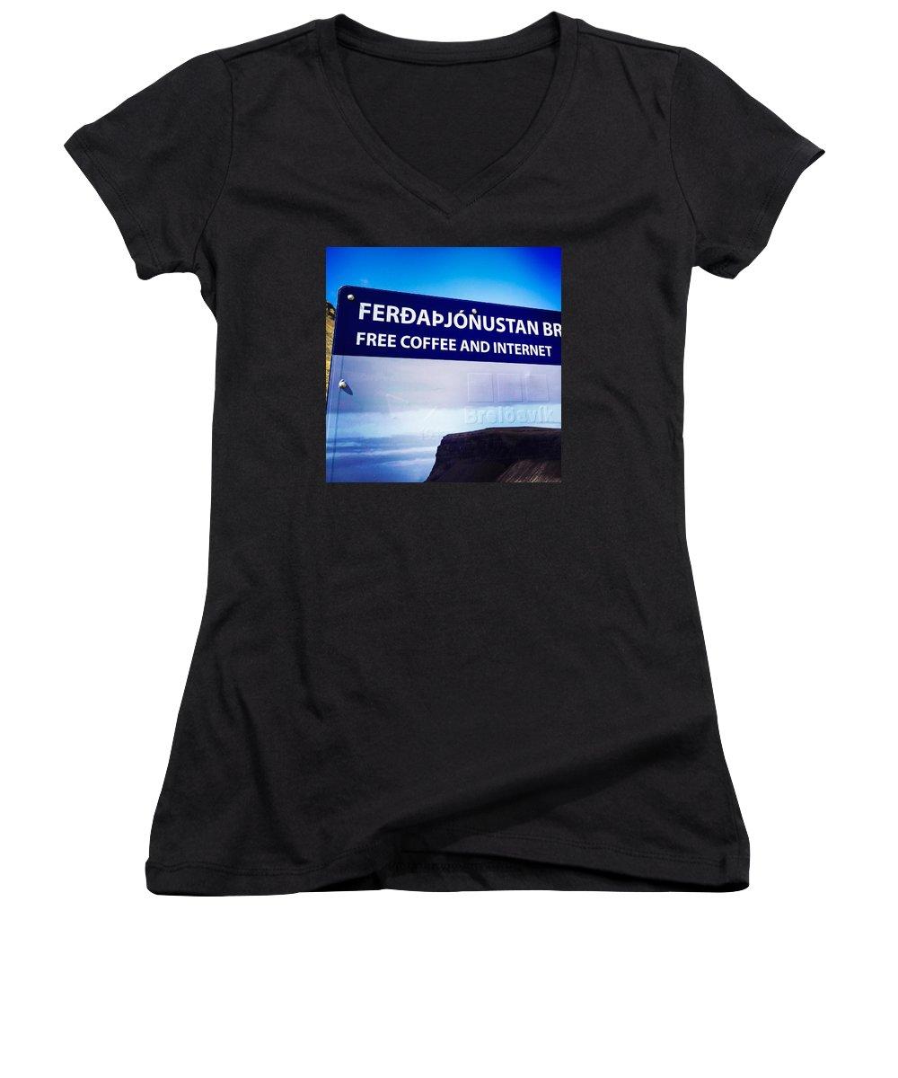 Funny Women's V-Neck T-Shirts