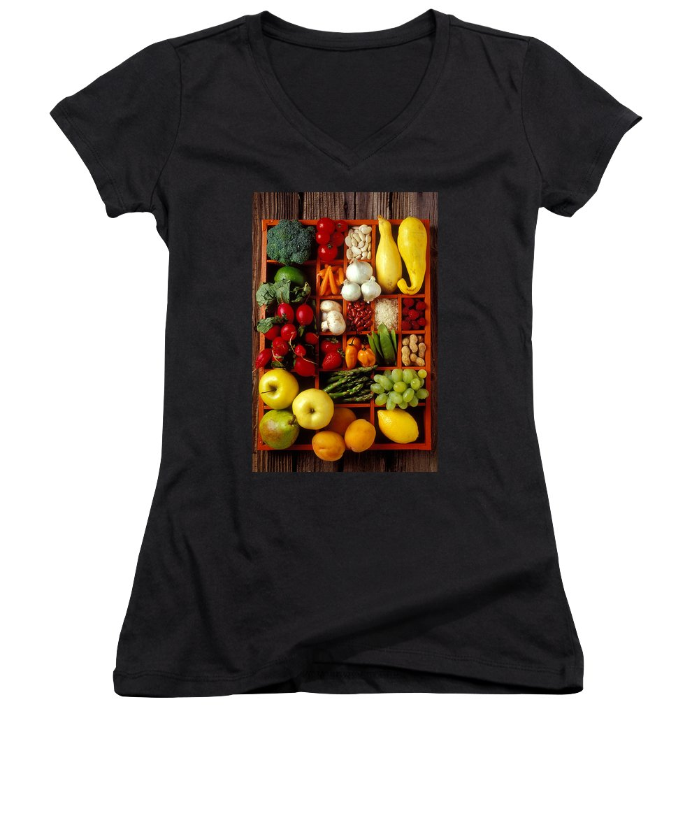 Asparagus Women's V-Neck T-Shirts