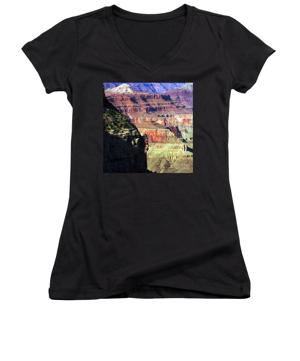 Photograph Women's V-Neck (Athletic Fit) featuring the photograph Heritage by Shelley Jones