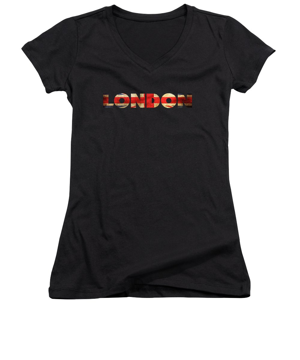 Soccer Women's V-Neck T-Shirts