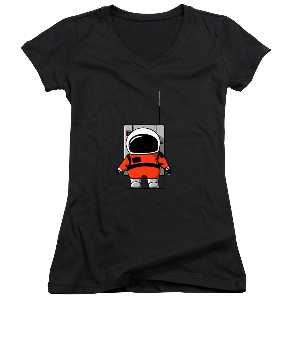 Science Fiction Junior V-Neck T-Shirts