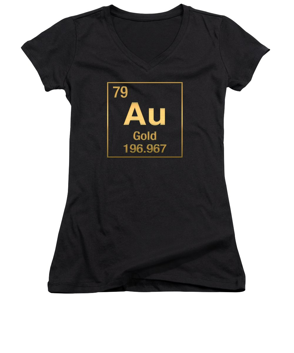 a759cfe3cb0 'the Elements' Collection By Serge Averbukh Women's V-Neck featuring the  digital art