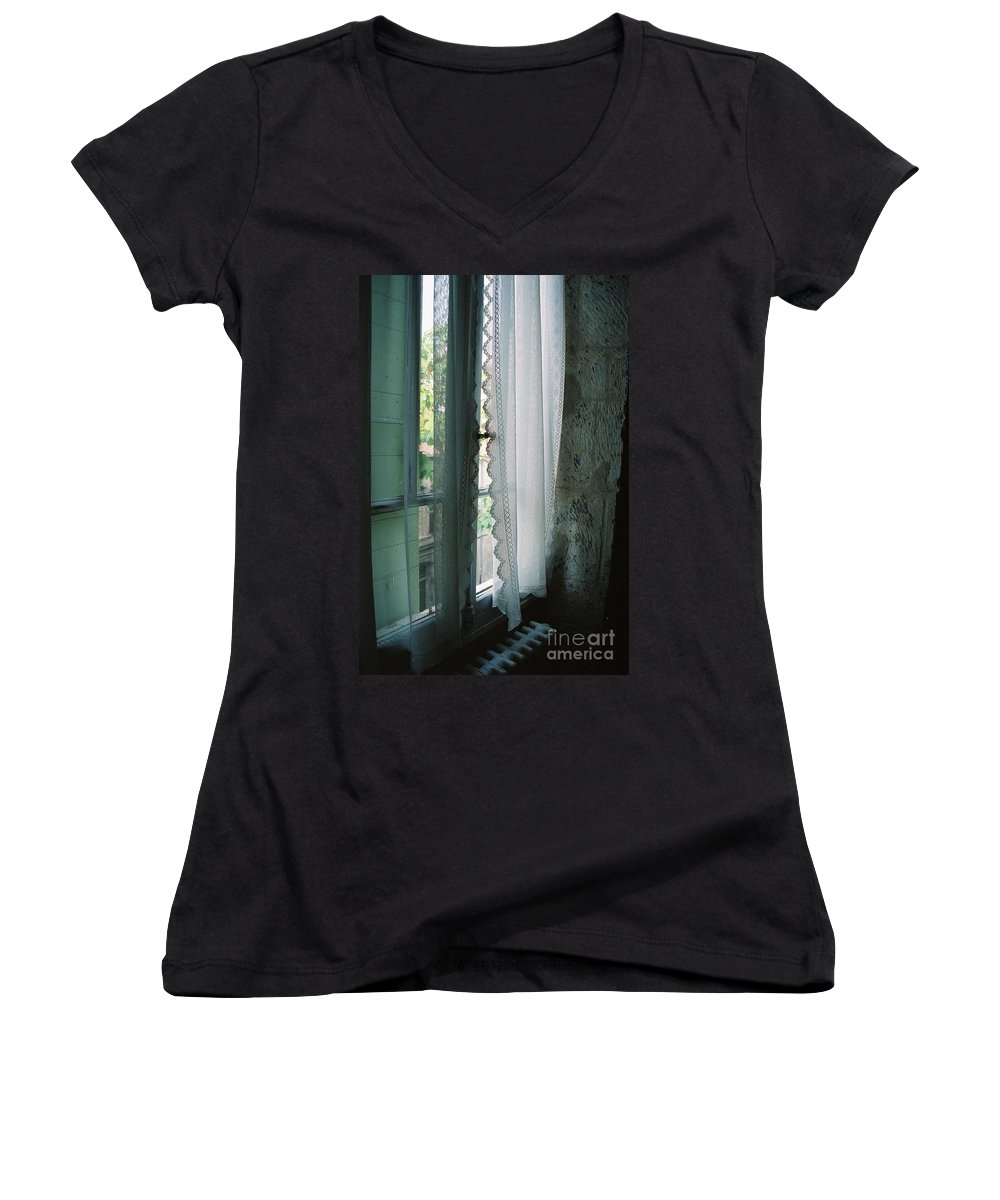 Arles Women's V-Neck (Athletic Fit) featuring the photograph Rest by Nadine Rippelmeyer