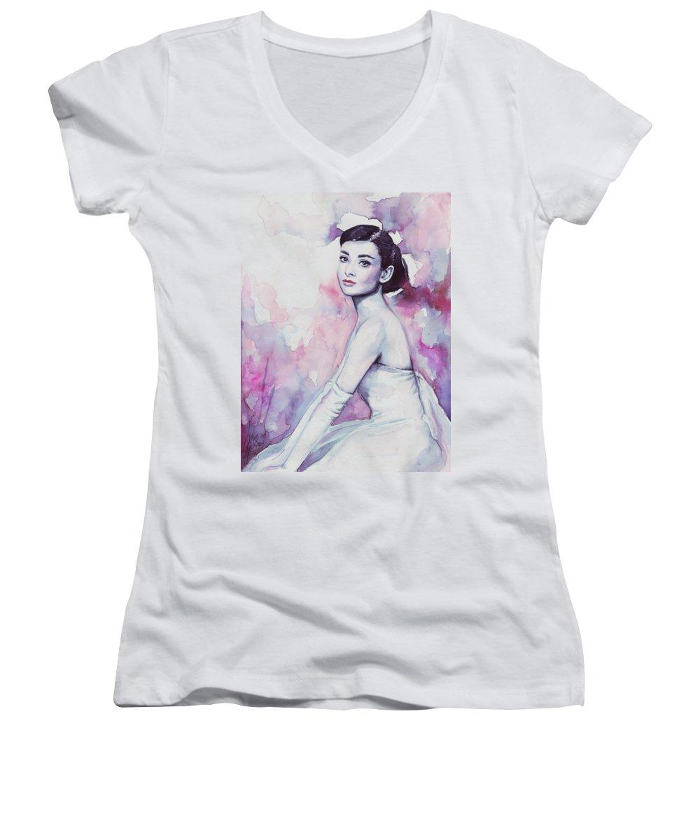 Actors Women's V-Neck T-Shirts